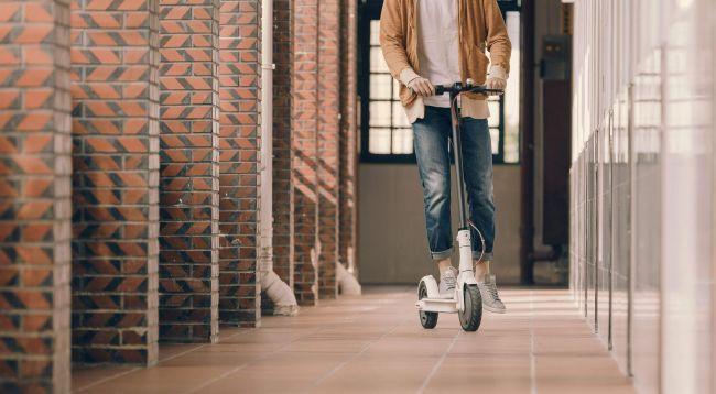 Снимки на Xiaomi MiJia M365 електрически скутер тротинетка