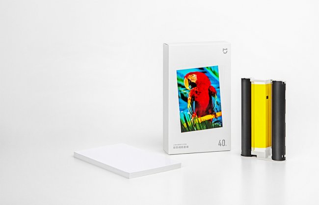 Xiaomi Mijia  Wireless Photo Printer Ink and Paper