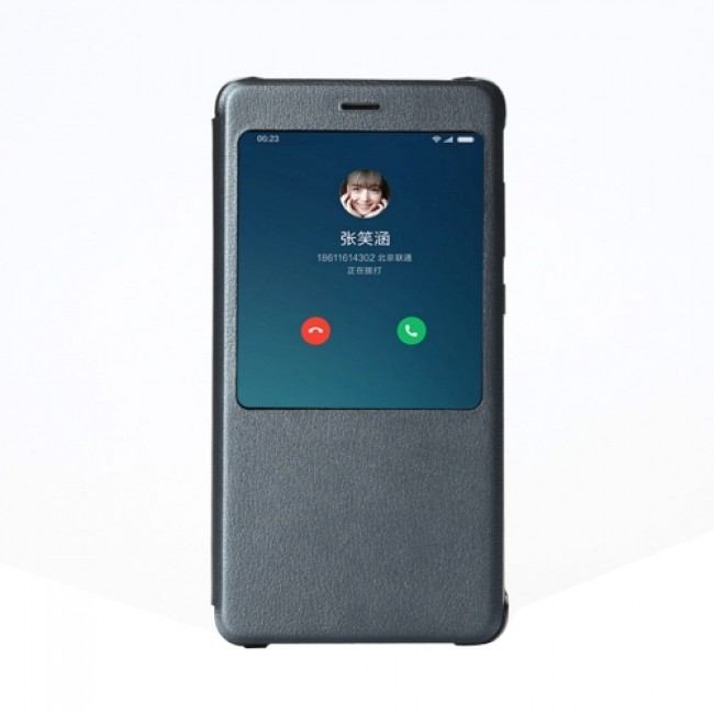Цена на Xiaomi Оригинален калъф за Redmi Note 4X Smart View Flip Case