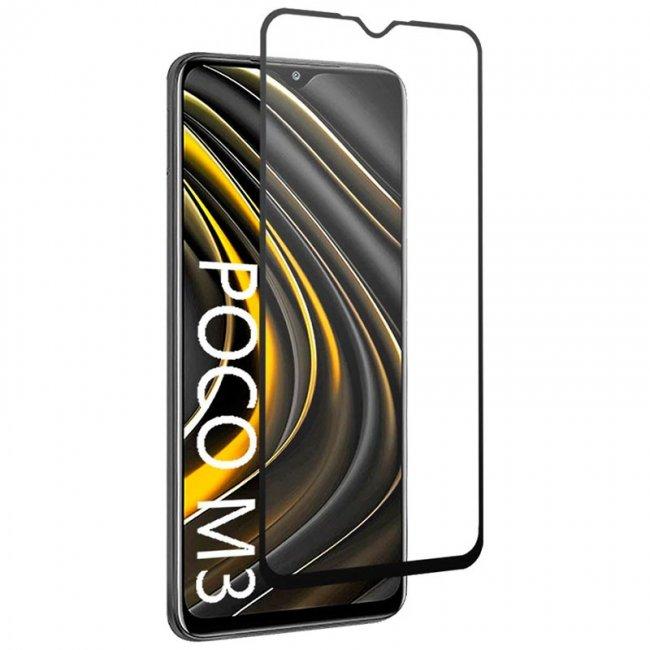 Стъклен Протектор за мобилен телефон Xiaomi Poco M3 3D