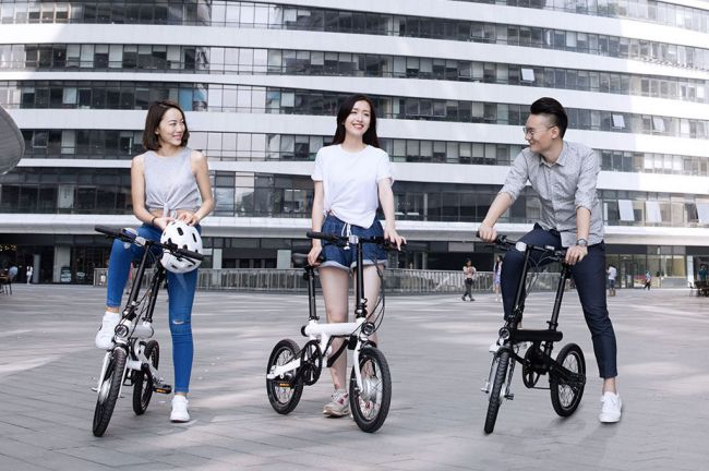 Xiaomi QiCYCLE Folding Electric Bike Снимка