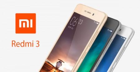 Цена на XIAOMI Redmi 3 Dual SIM