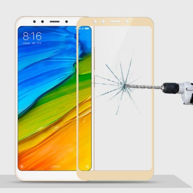 Стъклен Протектор за мобилен телефон Xiaomi Redmi 5 Plus Full glass protector- пълно покритие