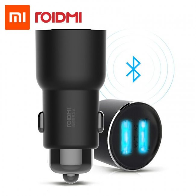Зарядно за Xiaomi ROIDMI Music Bluetooth Car Charger 3S