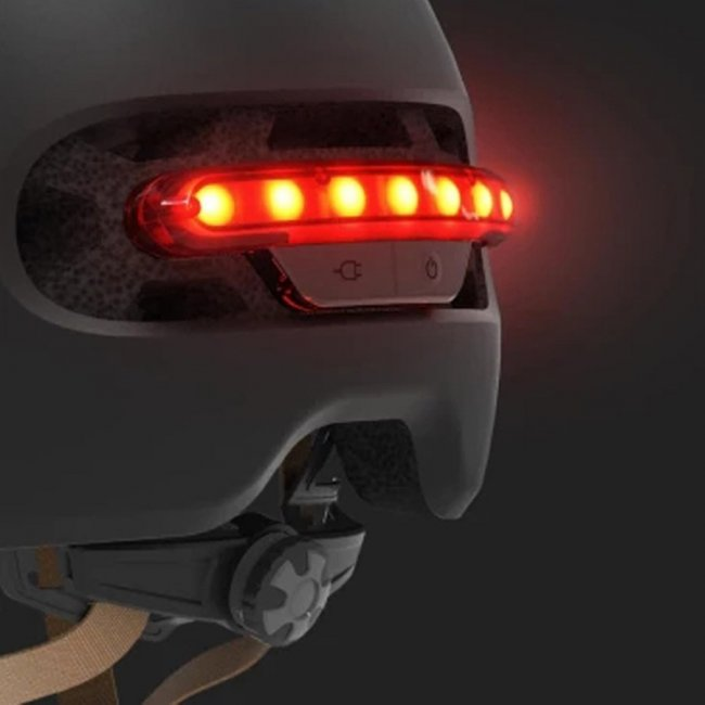 Цена Xiaomi Smart4u Waterproof Bicycle Smart Flash Helmet каска