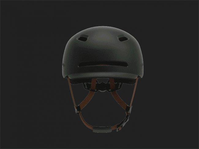 Xiaomi Smart4u Waterproof Bicycle Smart Flash Helmet каска Снимки