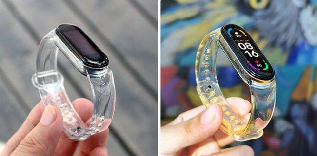 Аксесоари за спортни гривни и часовници Xiaomi Sunshine Magic Color Wristband For Mi Band 5/6 каишка