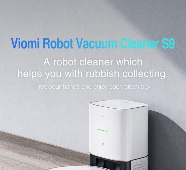 Xiaomi Viomi S9 Robot Vacuum Cleaner Снимка