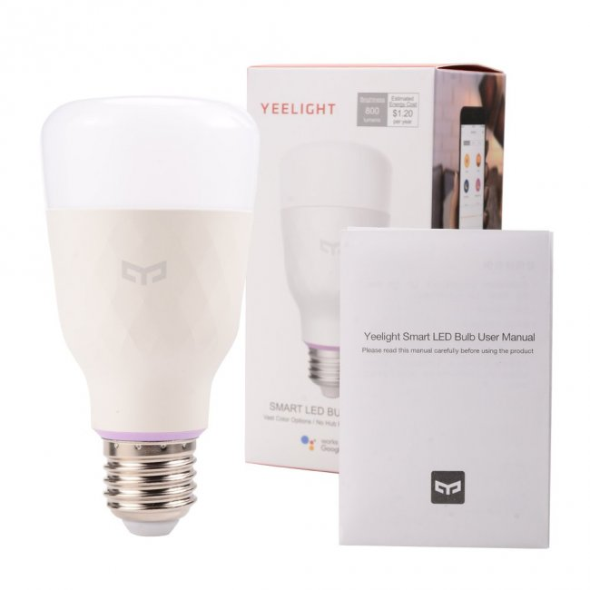 Xiaomi Yeelight Smart Led bulb Color 2