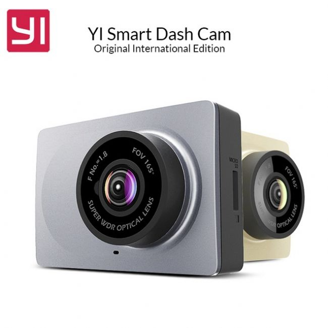 Видеонаблюдение XIAOMI Yi Smart Dash Camera Car DVR